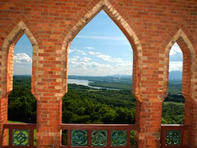 Olana-Bell-Tower-Wainwright-Viewshed