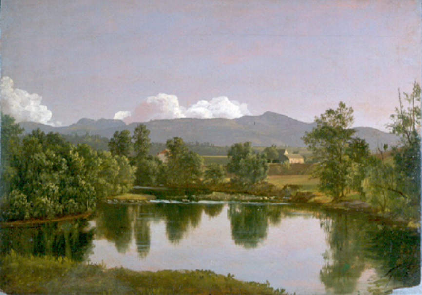 The Catskill Creek by Frederic Edwin Church-Olana State Historic Site,