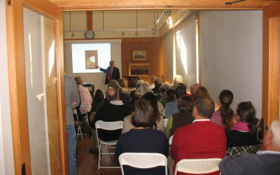 david schuyler lecture in wagon house