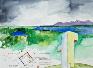 Olana, Summer, House, Steven Holl, Follies, architect, landscape, exhibition