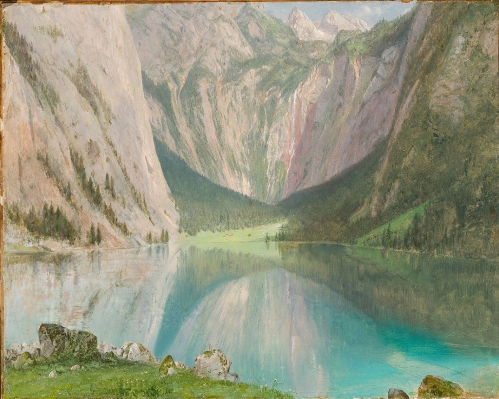 The Rockies & the Alps Bierstadt, Calame, and the Romance of the Mountains