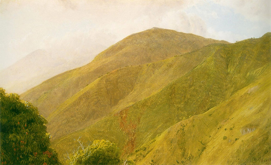 Fern Hunting Among These Picturesque Mountains – Frederic Edwin Church in Jamaica