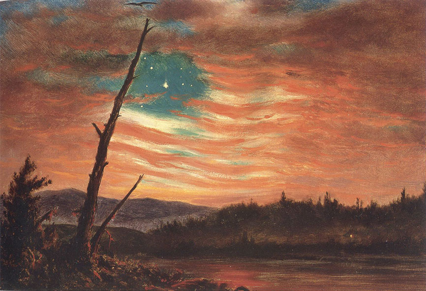 Rally 'Round The Flag – Frederic Edwin Church and The Civil War
