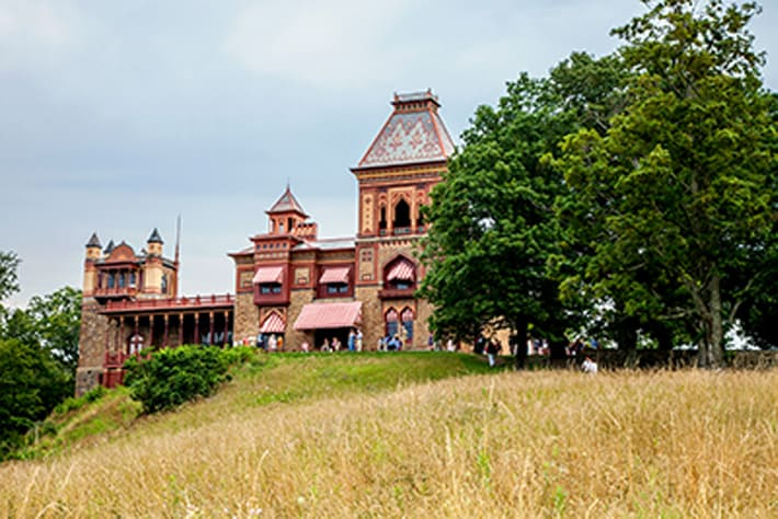 The OLANA Experience: Senior Staff-led Landscape and Viewshed Walk & Main House Historic Interiors Tour