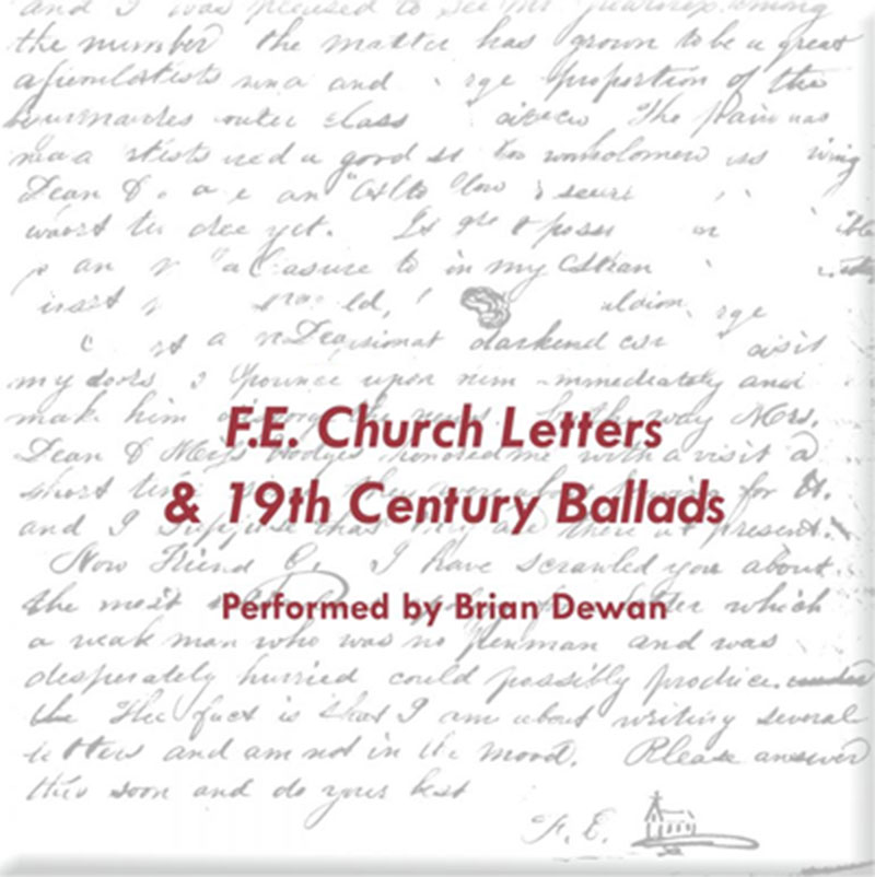 F.E. Church's Letters & 19th Century Ballads