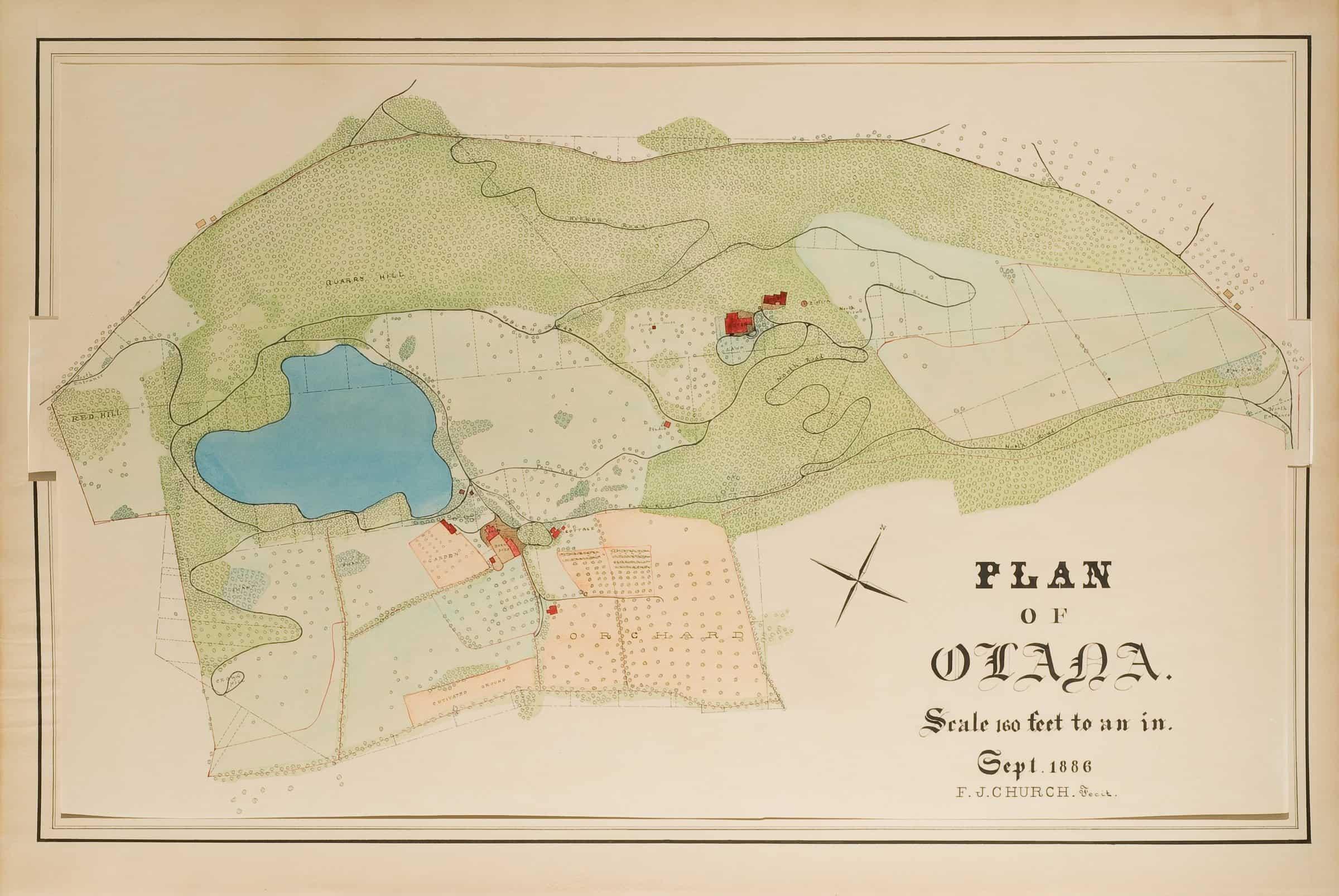 Olana's Historic Landscape Video Tour